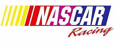 NASCAR RACING LOGO DECAL STICKER 3M VINYL USA MADE TRUCK VEHICLE WINDOW WALL CAR