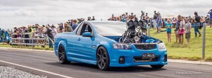 Blown Holden Commodore VE Ute