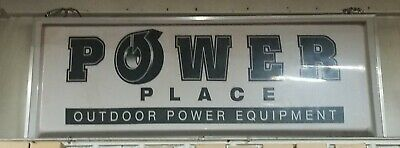 Lighted Box Sign Outdoor 3ft X 8ft