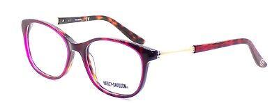 Harley Davidson HD0533 054 Women's Eyeglasses Frames 52-17-135 Red Havana + CASE