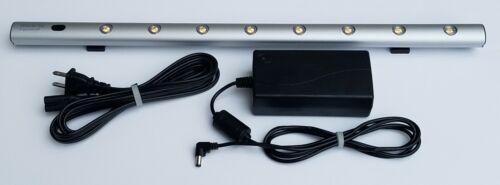 "Workrite Ergonomics Verano Silver Magnetic LED Under Cabinet 19.25"" Task Light"