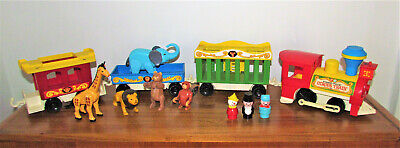 Vintage Fisher Price Little People Circus Train #991 COMPLETE