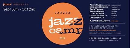 Jazz SA's JAZZ CAMP 2017 - Applications Open