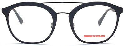 Prada Sport Damen Herren Brillenfassung VPS02H DG0-1O1 52 mm schwarz matt 379 33