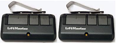 893LM 2-PACK LiftMaster 3 Button Remote Garage Gate Security+ 2.0 myQ 953ESTD