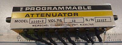 Weinschel Programmable Attenuator Model 3200-2
