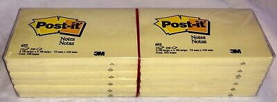 3m Post-it Notes 3 X 5 Inches Yellow Package Of 12 Pads 655 Bd0497