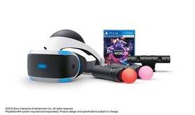 Playstation vr, camera, 2 motion controls and 4 games, like new been used a few times