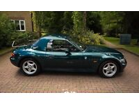 BMW Z3 with hardtop. My pride and joy for sale after 14 happy years.