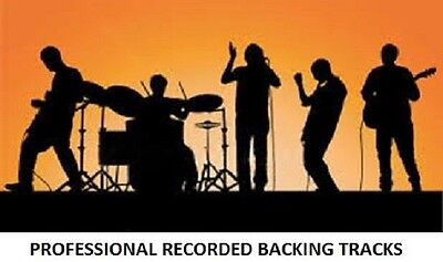 ERASURE  PROFESSIONAL RECORDED BACKING TRACKS