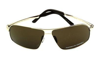 Porsche Design Sonnenbrille P8542-B brown Titan von Rodenstock Aviator-Style