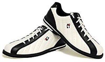 Mens 900 Global 3G KICKS Bowling Shoes Color White/Black Sizes 5 - 14