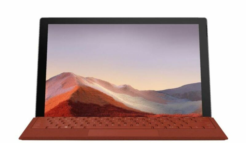 "Microsoft Surface Pro 7 12.3"" Intel Core i5 10th Gen 8GB RAM 128GB SSD Platinum"