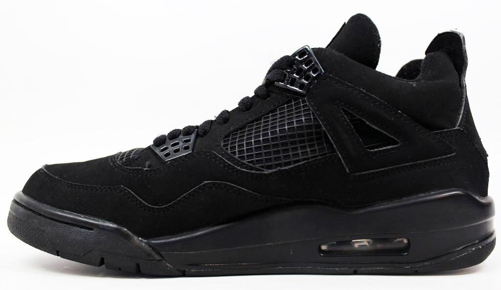 The Air Jordan 4 Retro \\u0026quot;Black Cat\\u0026quot; takes that design