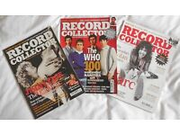 Record Collector Magazines - 200 issues.