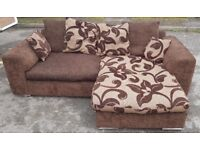 Corner sofa left or right sided vgc