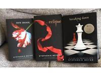Stephenie Meyer books.