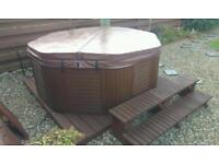8 Seater Octagonal Hot Tub