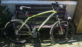 Mountain Bike Carbon Fibre Adults really sturdy bike