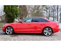 2009 AUDI A4 S LINE FINISHED IN MISANO RED(INSIGNIA,F30,A6,A5,A3,BORA,PASSAT,GOLF,BLACK EDITION,320D