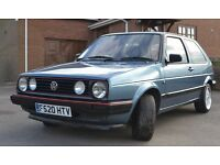 Volkswagen Golf 1.3 Mk2 4sp. Great first car or starter classic