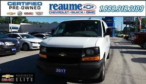 2017 Chevrolet Express Cargo Van with Rear Glass