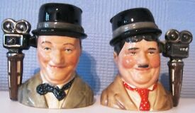 Royal Doulton character/Toby Jugs – Laurel and Hardy Limited Edition.