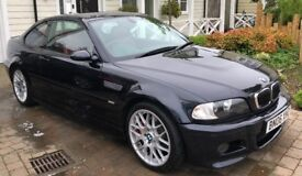 2006 BMW M3 3.2 2dr COUPE - ONLY 48000 MILES - JUST HAD BMW SERVICE - 1YR MOT
