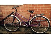 Cheap ladies bike in very good condition