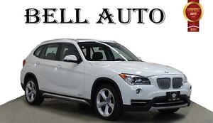 2013 BMW X1 XDRIVE PREMIUM PKG PANORAMIC ROOF LEATHER