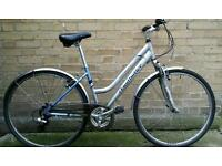 """Claud Butler Odyssey 17 """" women's hybrid bicycle."""