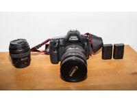Canon 5d mark iii , 2 batteries , EF 24-70mm f/2.8 L USM Lens , EF 85mm f/1.8 US