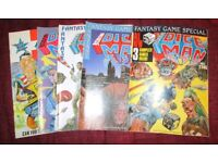 Dice Man FULL SET Issues 1-5