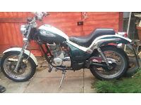 Gilera coguar 125cc great learner or commuter motorbike W reg (2000)