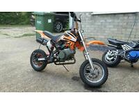 Orion 50cc mini dirtbike (pitbike, mini moto)