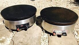 Heavy duty lpg gas crepe makers £270 each or both for £500