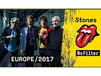 2 Tickets ROLLING STONES Silver Pit HAMBURG/Germany No Filter Tour Standing 9.9.2017