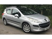 Peugeot 207 SW Estate 1.4 VTi Sport 5dr Full Panoramic Roof, Cheap Car To Run, SAVE £££'s