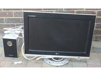 """LG 23"""" Monitor L2323A with Media Station"""