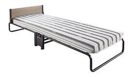 SOLD JAY-BE Revolution Folding Bed Black, Single, 77 cm