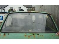 Vw t25 screen and bumper
