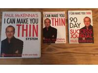 Paul McKenna's I CAN MAKE YOU THIN System. Weight Loss/Diet/Exercise Hypnotherapy Programme