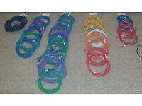 Ethernet Cables Joblot Sorted colours and sizes 1m 2m 3m 4m 5m 6m 7m 8m