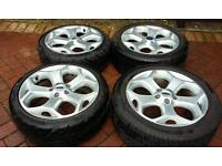 """Alloy wheels. Geniune Ford 18"""" ST Alloys Focus Mondeo Transit Connect"""