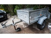 Metal Tipping trailer Winterhoff. 4x3