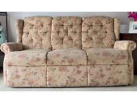 Pristine Multi-Cloth Furniture | 3-seater, 2 Motorised Recliners, 1 Single Seater Sofa |