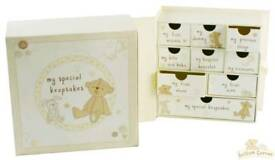 *** Brand new Baby keepsakes box