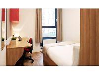 1 Ensuite Double Bedroom in Student Halls (Short Let)