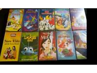 Disney Classics VHS tapes