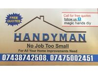 Handyman professional service FREE QUOTES all Jobs